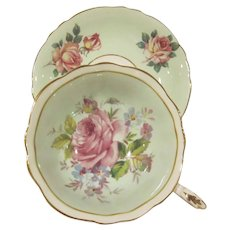 Vintage Paragon Fine Bone China England Roses Cup and Saucer