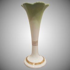 Made in Czechoslovakia Small Pottery Bud Vase