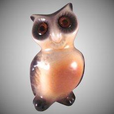 Roselane California Pottery Owl MCM