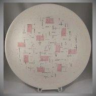 Vernon Kilns, Metlox 'Tickled Pink' Dinner Plate Have 5 MCM