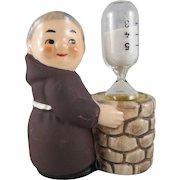Goebel Friar Tuck Brown Monk Egg Timer