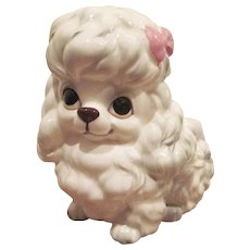 Napcoware Made In Japan Poodle Planter