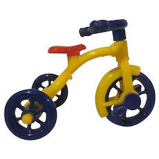 """Renwal 3/4"""" No. 7 Tricycle Dollhouse Accessory"""
