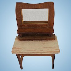 Schneegas Woman's Desk Dollhouse Furniture
