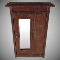 Schneegas Wooden Wardrobe Dollhouse Furniture
