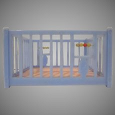 "Renwal 3/4"" No. 118 Playpen Dollhouse Furniture"
