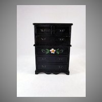 "Renwal No. 85 3/4"" Crosse & Blackwell Highboy Dollhouse Furniture"