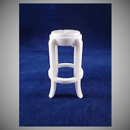 "Marx 3/4"" Stool Dollhouse Accessory"