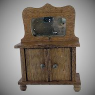 "Star Novelty Works 1-1/4"" Wash Stand c1910 Dollhouse Furniture"