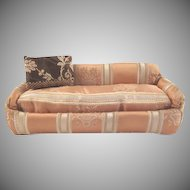 "Formal 1"" Upholstered Stuffed Sofa Dollhouse Furniture"