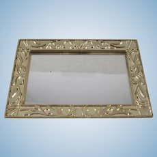 "Marx 3/4"" Little Hostess Horizontal Mirror Dollhouse Accessory"