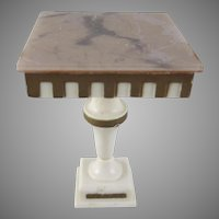 "Ideal Petite Princess 3/4"" Pedestal End Table Dollhouse Furniture"