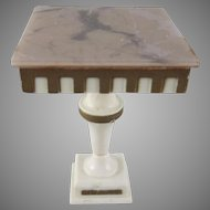 "Ideal Petite Princess 3/4"" Pedestal End Table Dollhouse Furniture"