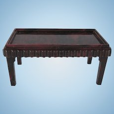 "Ideal 3/4"" Coffee Table Dollhouse Furniture"