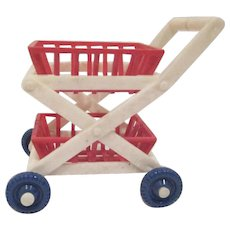 "Ideal 3/4"" Shopping Cart Dollhouse Accessory"