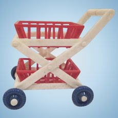"Ideal 3/4"" Shopping Cart Dollhouse Accessory"