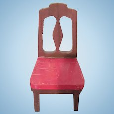 "Strombecker 1"" 1938 Dining Room Chair Dollhouse Furniture Have 4"