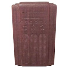 "Strombecker 3/4"" Floor Radio Dollhouse Furniture"
