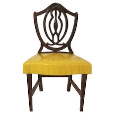 "Ideal Young Decorator 1-1/2"" Dining Room Chair Dollhouse Furniture"