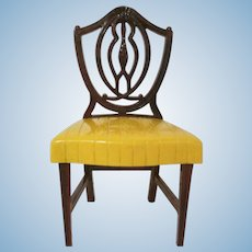 """Ideal Young Decorator 1-1/2"""" Dining Room Chair Dollhouse Furniture"""