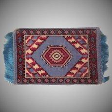 Felt Flannel Tobacco Freebie Dollhouse Rug Accessory #6
