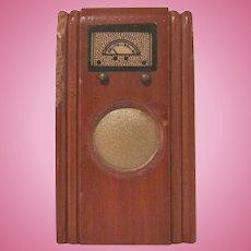 """Kage 3/4"""" Floor Radio Dollhouse Furniture"""