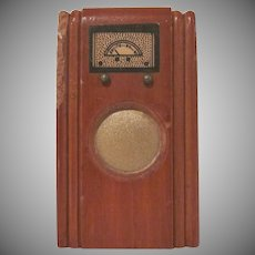"Kage 3/4"" Floor Radio Dollhouse Furniture"