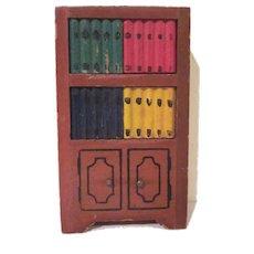 "Kage 3/4"" Bookcase Dollhouse Furniture"