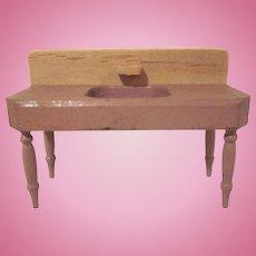 """Strombecker 1934 3/4"""" Kitchen Sink Dollhouse Furniture"""