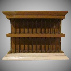 "Vintage 1"" Kitchen Drying Rack Dollhouse Furniture"