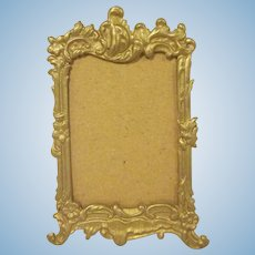 Early Made in Germany Gilt Frame Dollhouse Accessory