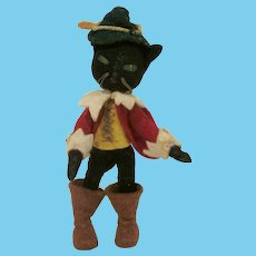 Baps Germany Story Book Puss N Boots Dollhouse Doll