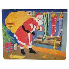 Built Rite Santa and Christmas Tree Puzzle