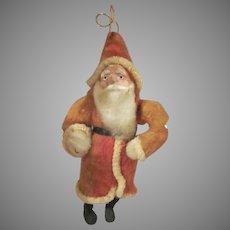 Made in Japan Spun Cotton Santa Claus Christmas Tree Ornament