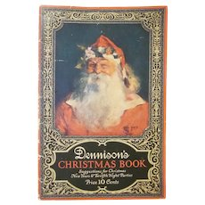 Early Dennison's Christmas Book 1923 for Decoration Ideas