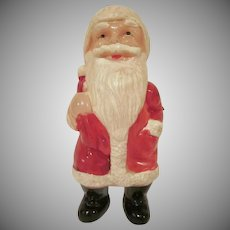 """Vintage Made in Japan Celluloid Santa Toy Doll 5-3/4"""" Tall"""