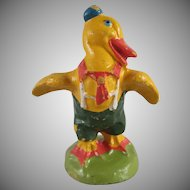 Made in Germany Composition Easter Duck Figure
