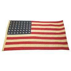 Vintage Cotton Bunting 48 Star Flag 3 Feet x 5 Feet