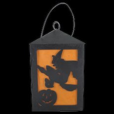 HOLD Union Products Hard Plastic Battery Operated Halloween Square Lantern Works