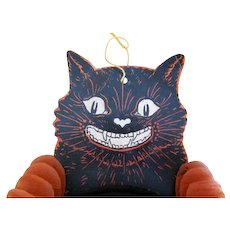 Early Beistle Cat Dancer Halloween Decoration 1928-1937