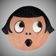 Made in Germany Halloween 'Betty Boop' Smaller Diecut