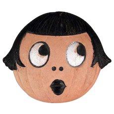 Made in Germany Halloween 'Betty Boop' Smaller Diecut