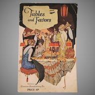 Dennison Tables And Favors Booklet from 1922