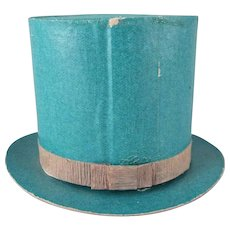 St. Patrick's Day Made in Japan Green Top Hat Candy Container