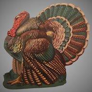 Thanksgiving Turkey Diecut Facing Left