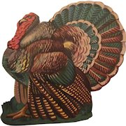 Thanksgiving Turkey Diecut Facing Left