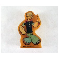 Figural Popeye Bakelite Pencil Sharpener