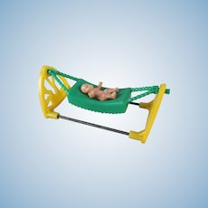 Acme Hammock with Rubber Baby Dollhouse Furniture