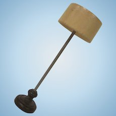 "Strombecker 3/4"" Modern Floor Lamp Dollhouse Accessory 1950s"