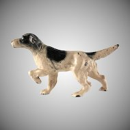 Hubley Cast Iron English Setter Paperweight